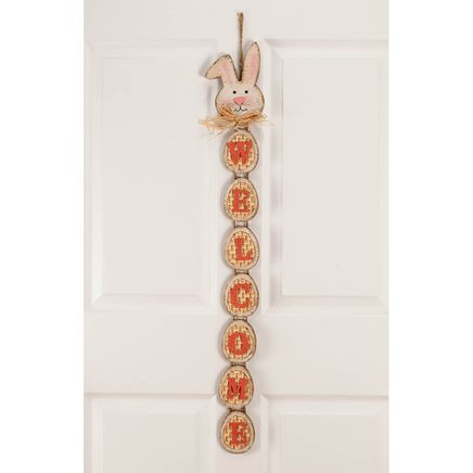 Welcome Easter Bunny Sign-366646