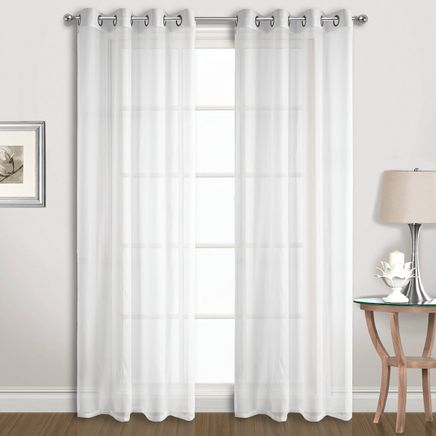 Extra-Wide Sheer Panel Pair-366668