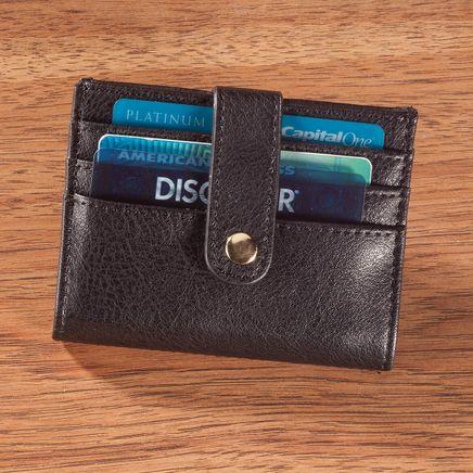 RFID Snap Closure Credit Card Wallet-366697