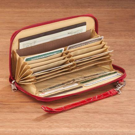 Accordion Checkbook Wallet-366698