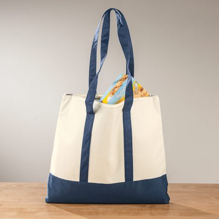 Insulated Cooler Shopping Tote-366969