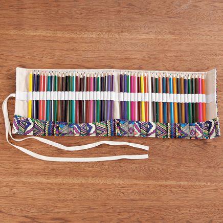 Colored Pencil Roll, 48-Pc. Set-366985