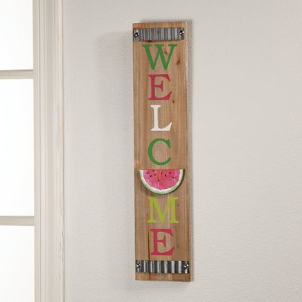 Welcome Watermelon Sign-367018