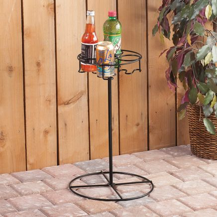 Outdoor Beverage Table-367025