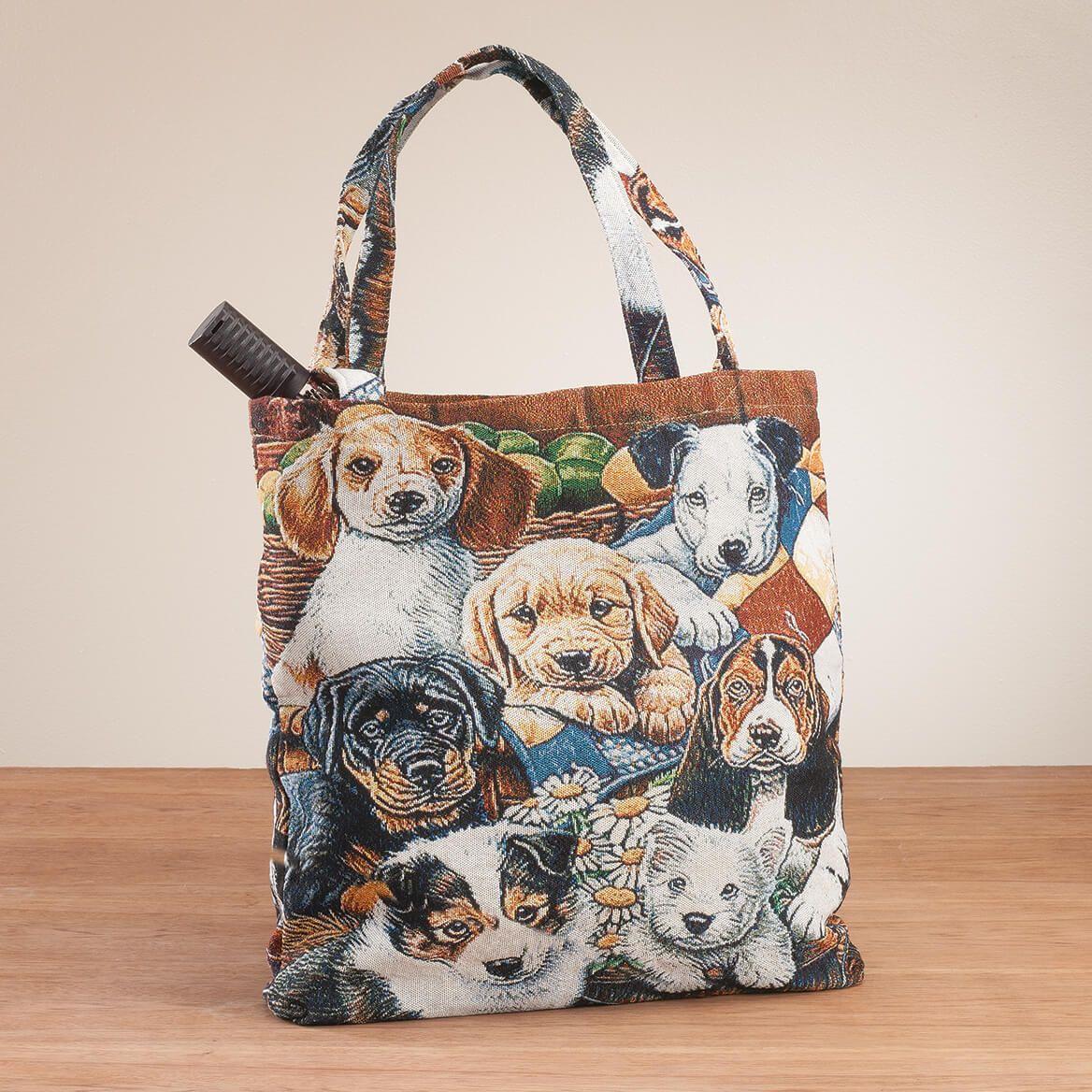 Dog Tapestry Tote Bag-367046