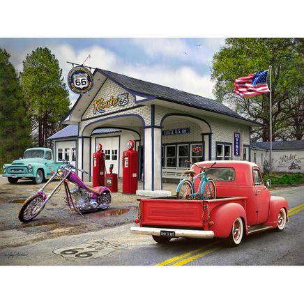 Nostalgic America Summer Fill Up Puzzle, 550 pieces-367126