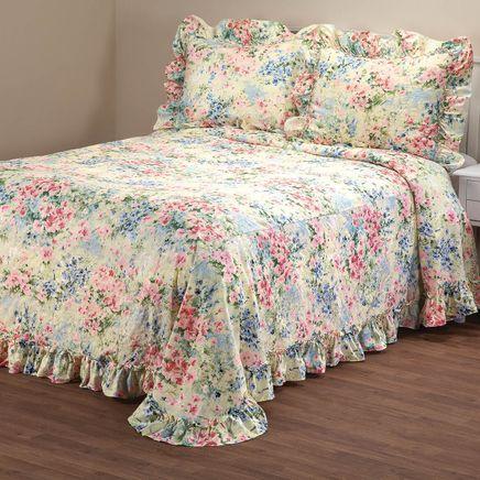 Giverny Plisse Bedspread-367167