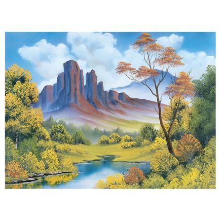 Joy of Puzzles with Bob Ross Fall 500 Pieces-367427