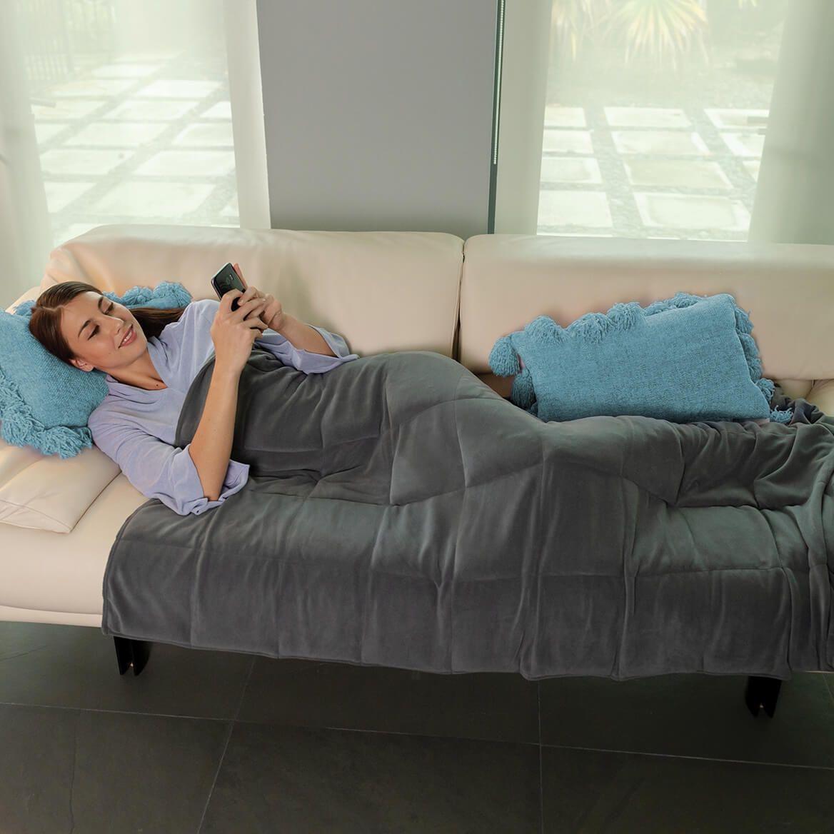 As Seen on TV Calming Comfort Weighted Blanket-367437