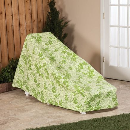 "Leaf Pattern Quilted Chaise Cover, 76"" L x 33"" H x 27"" W-367526"