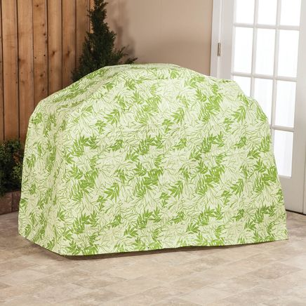 """Leaf Pattern Quilted Wagon Grill Cover, 60""""L x 42""""H x 22""""-367528"""