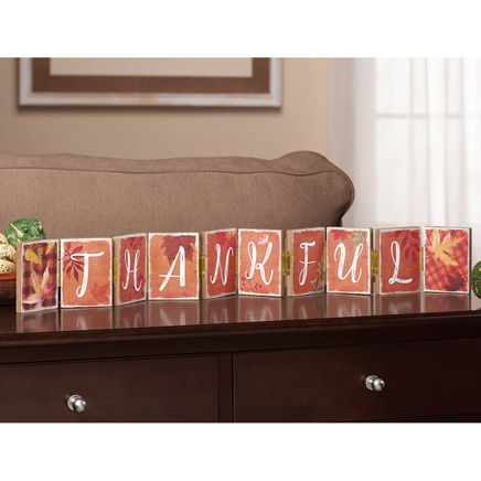 Thankful Folding Tabletop Sign-367602