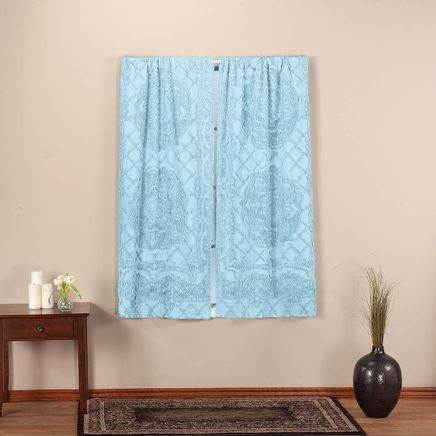 Trevor Chenille Curtain Panel Pair-367630