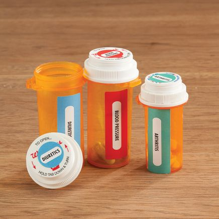 Medicine Bottle Labels -Set of 120-367702