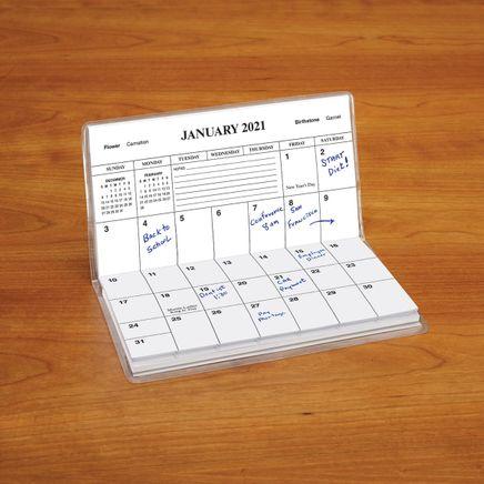 Personalized 2 Yr Planner Purple Pansies-367705