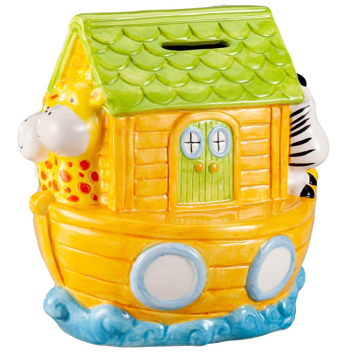 Personalized Noah's Ark Bank-367968
