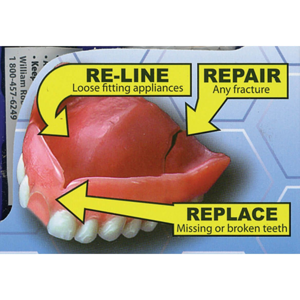 Instant Smile™ Complete Denture Repair Kit-368025