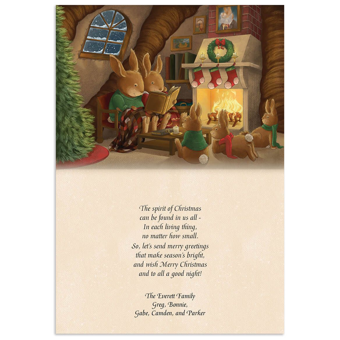The Night Before Christmas Card w/Bookmark S/20-368232