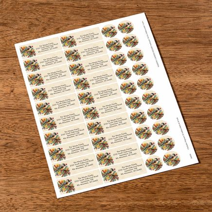 Personalized Chickadee Potpourri Labels & Seals 20-368266