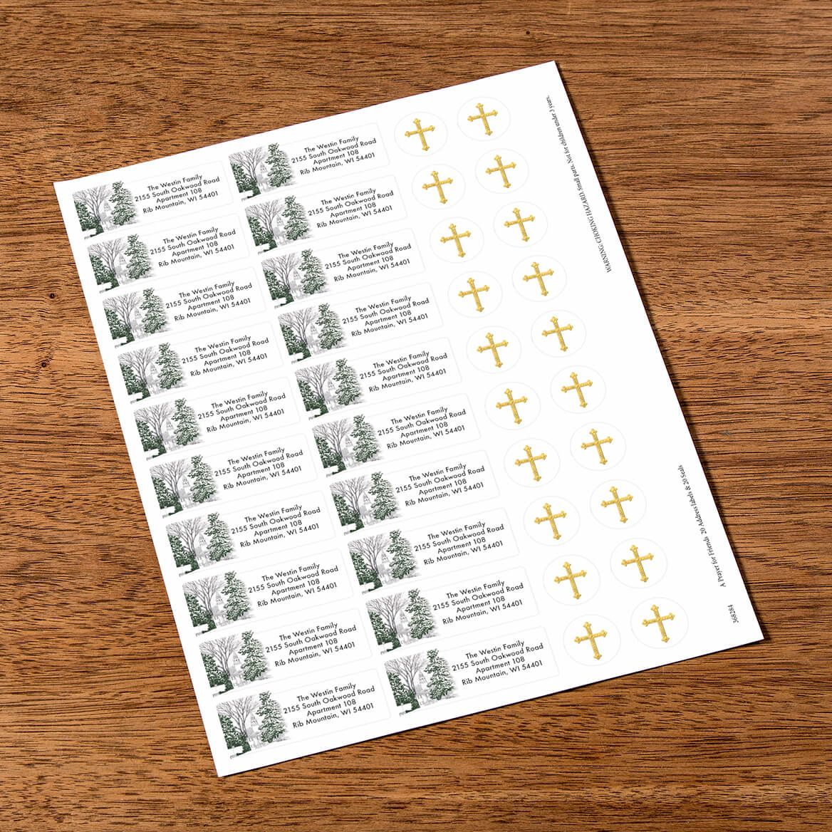 Personalized A Prayer for Friends Labels & Envelope Seals 20-368284