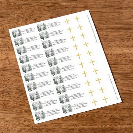 Personalized A Prayer for Friends Labels & Seals 20-368284