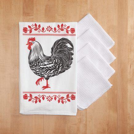 Barnyard Flour Sack and Utility Kitchen Towel Set-368401