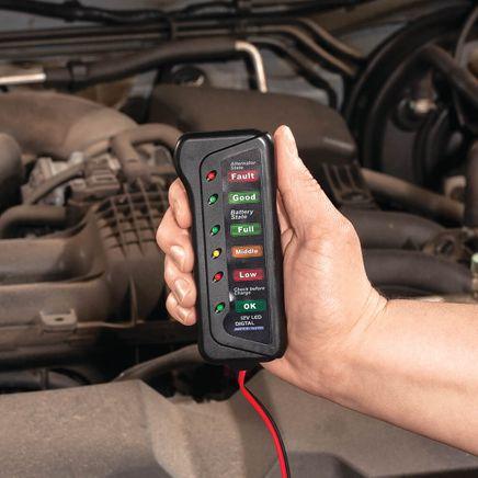 Car Battery Tester by LivingSURE™-368415