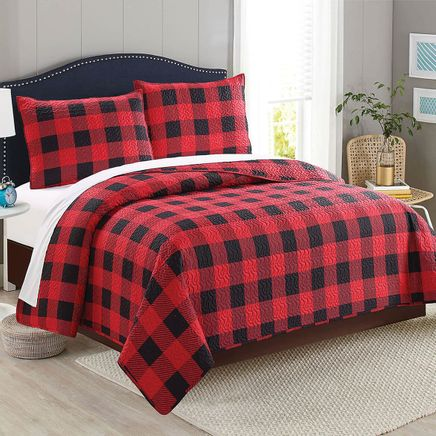 Buffalo Plaid Quilt-368548