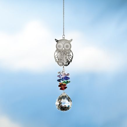 Owl Rainbow Suncatcher-368705