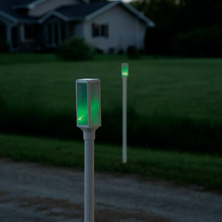 Color-Changing Solar Driveway Markers, Set of 2-368711