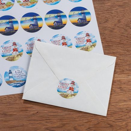 Religious Lighthouse Stickers Set of 240-368815
