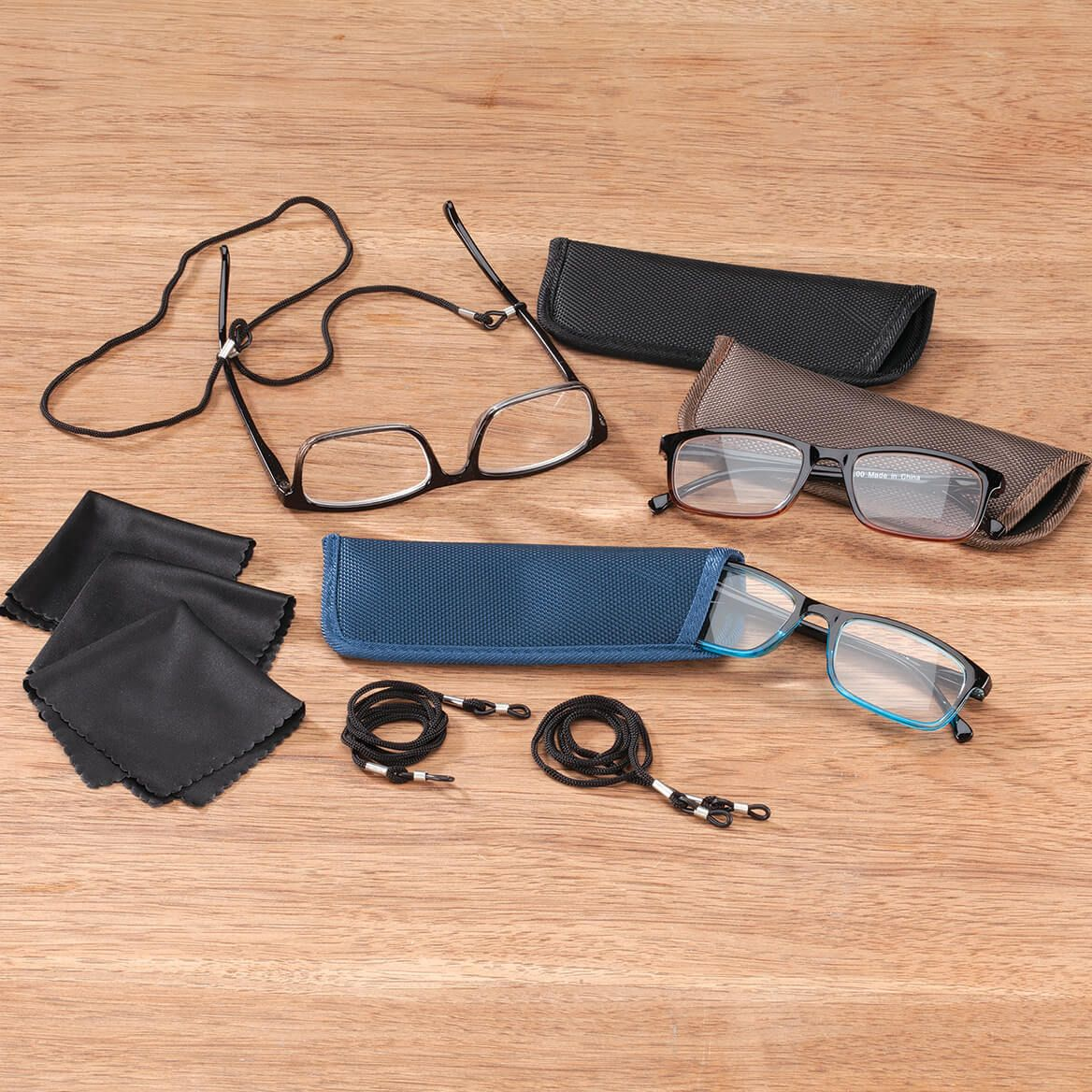 Reading Glasses & Accessory Set of 12-368888