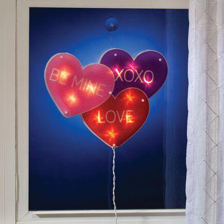 Conversation Hearts Shimmer Light-369002