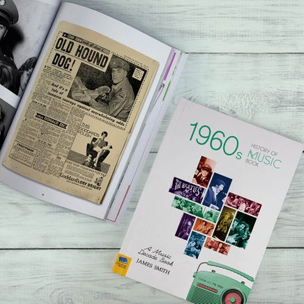 Personalized Just for You Music Decade Book-369396