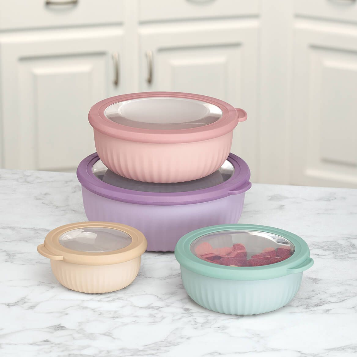 Cap Tight Deluxe Storage Containers Set of 4-369400