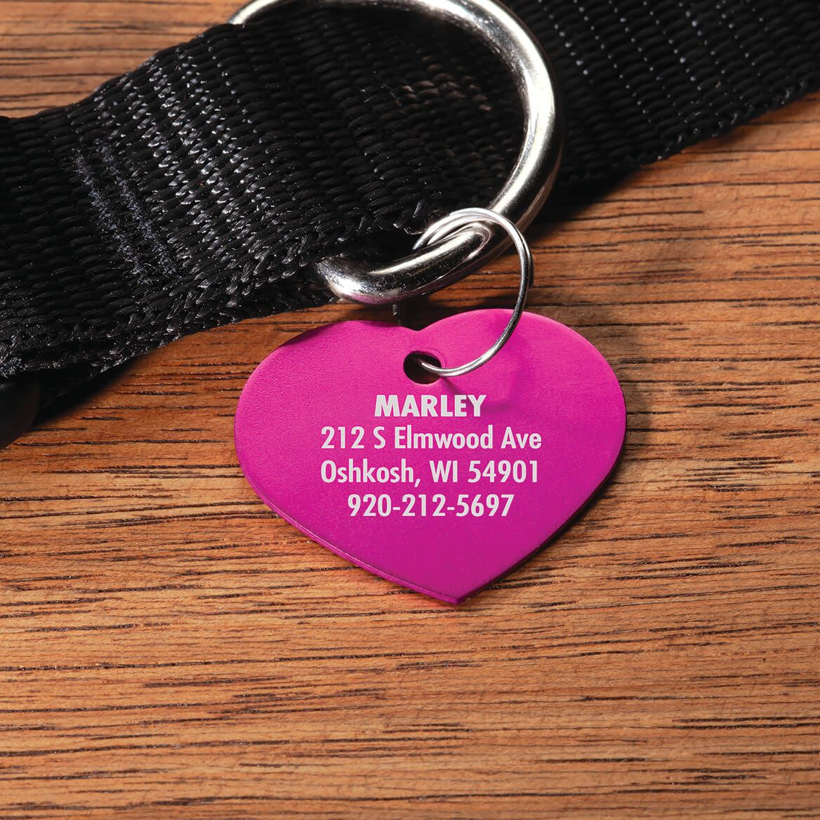 Personalized Heart-Shaped Pet Tag-369471