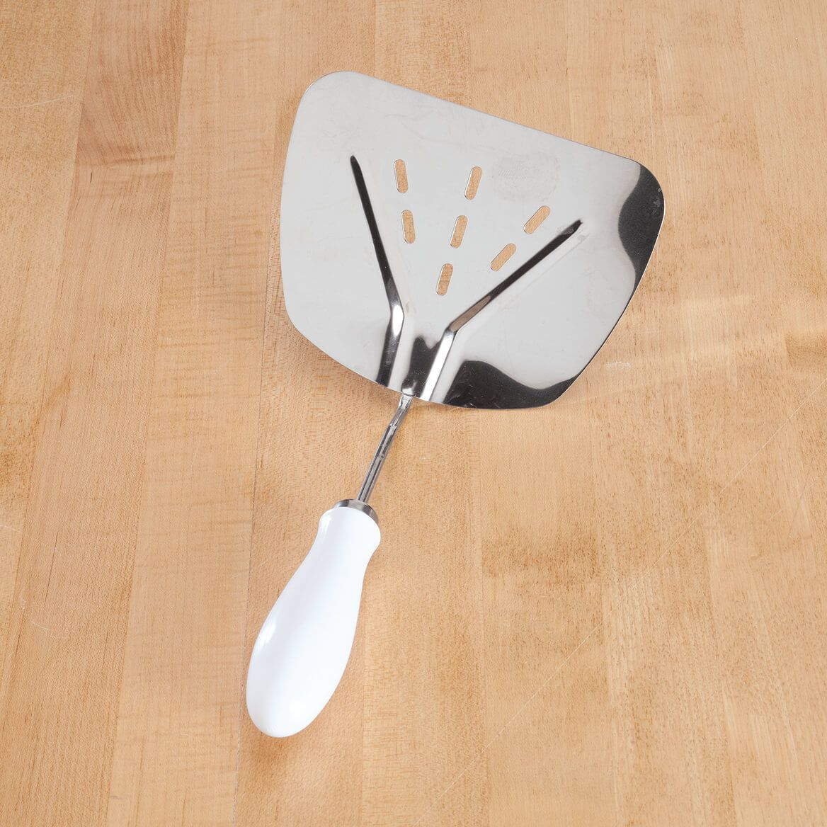 Vintage Stainless Steel Wide Body Spatula-370405