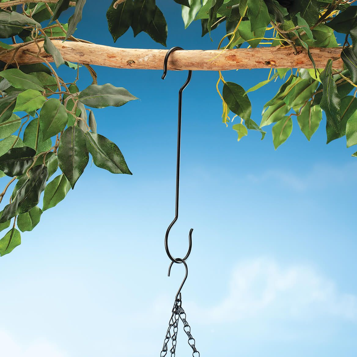 Double-Ended Outdoor Hanging Hooks, Set of 5-370419