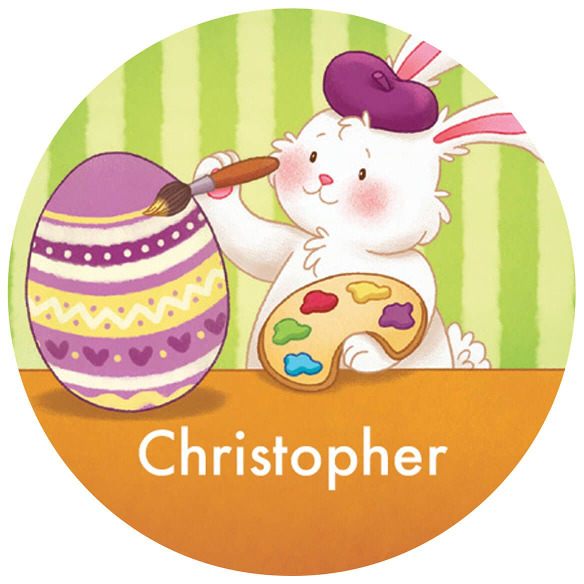 Personalized Children's Easter Stickers, Set of 240-370426