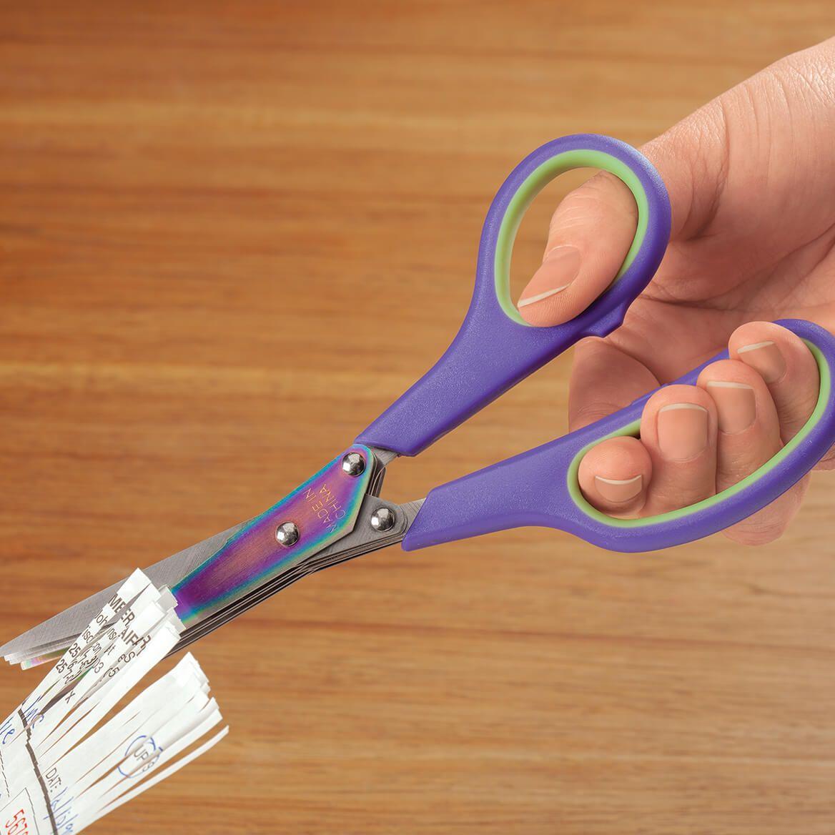 Titanium Rainbow Shredding Scissors-370714