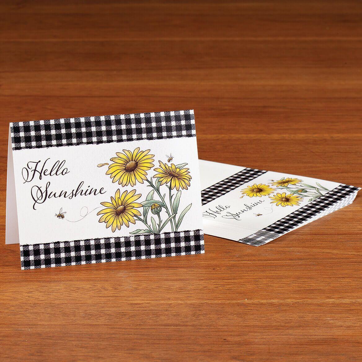 Hello Sunshine Note Cards Set of 20-370800