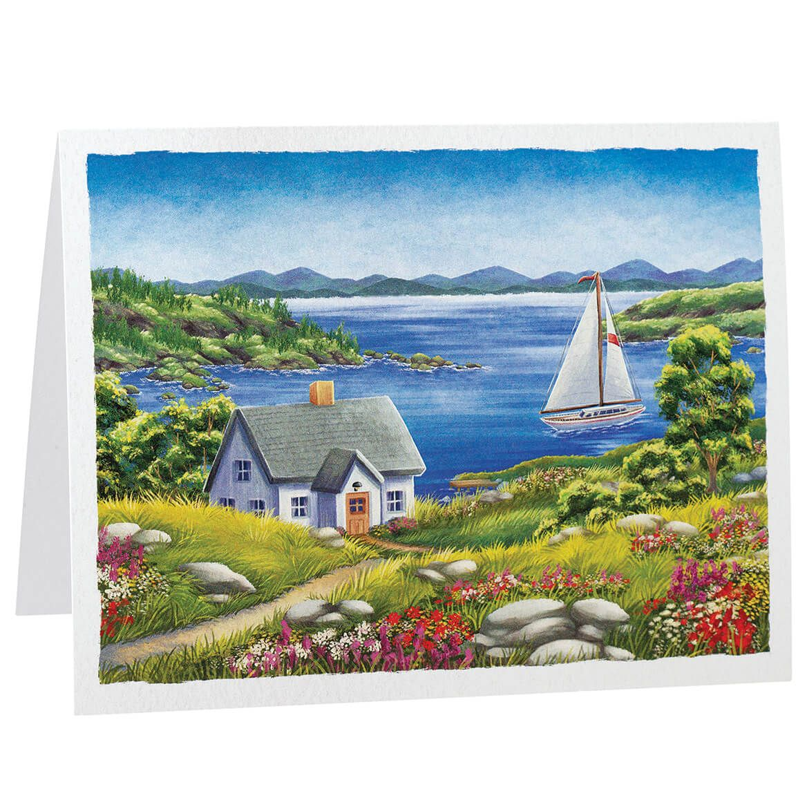 Landscape Note Cards Set of 20-371157