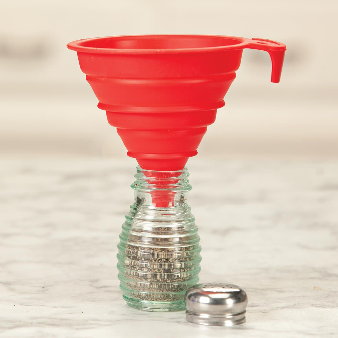 Collapsible Silicone Funnels Set of 2 by Chef's Pride-371270
