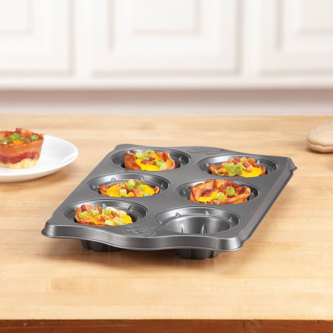 2 in 1 Bacon Cup Pan by Home Marketplace-371606