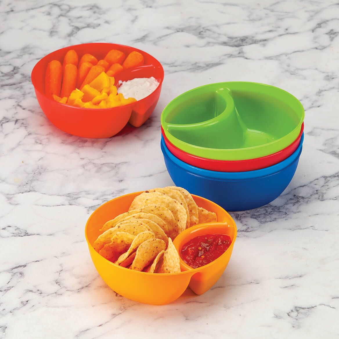 Individual Snack & Dip Bowls, Set of 6-371614