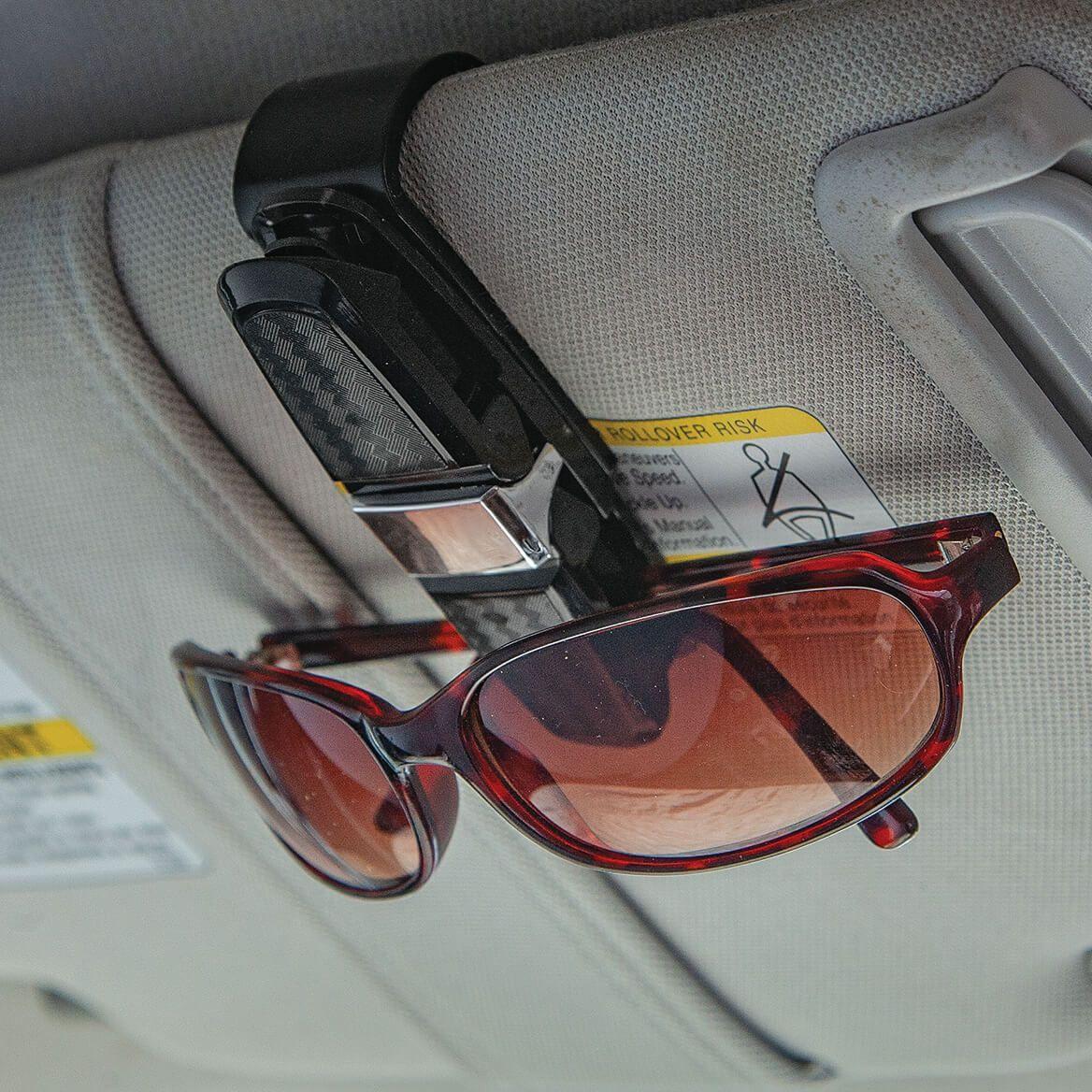 Double Sunglasses Visor Clip-371721