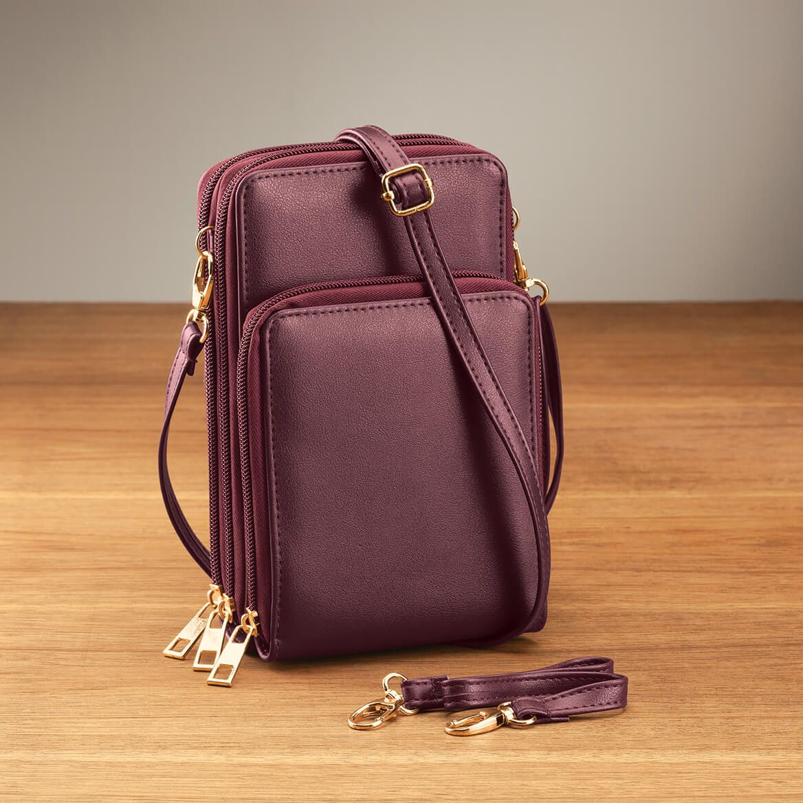 Multi-Compartment Cellphone Purse with Touch Screen-371872