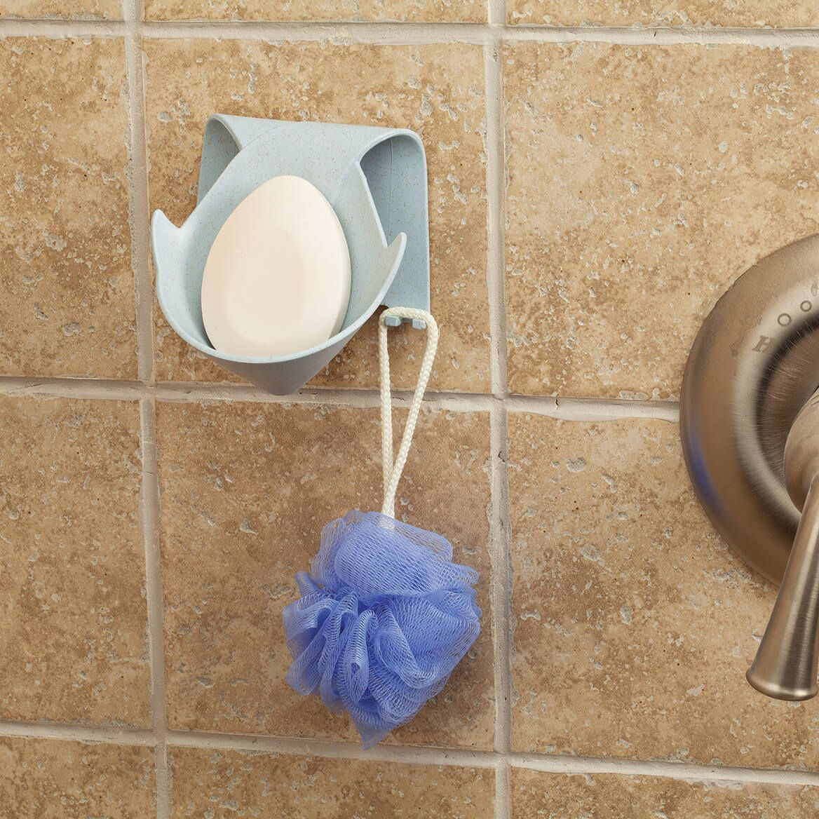 Wall Mounted Wheat Straw Soap Holder-371988