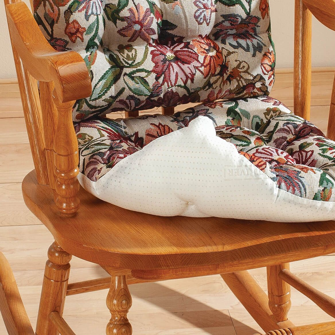 Tapestry Rocker Pads with Gripper Back, Set of 2-372263