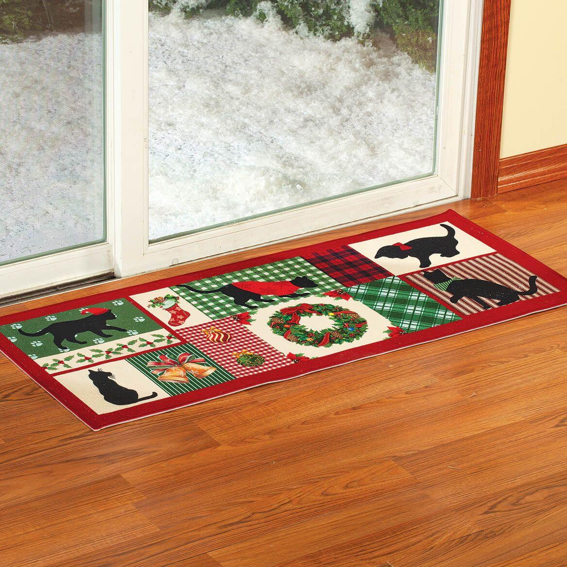 Christmas Cat Floor Runner-372337